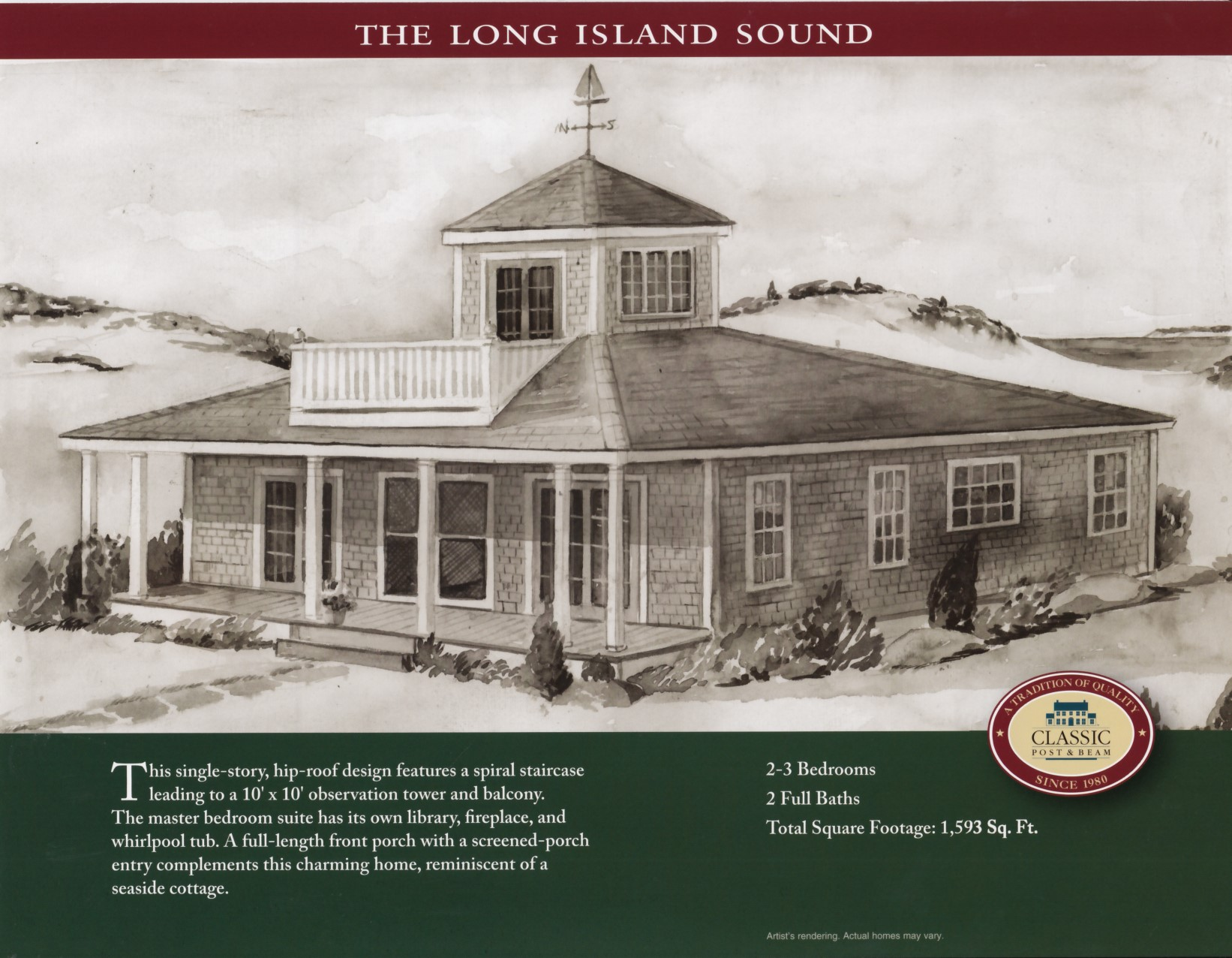The Long Island Sound - Northeastern Log Homes