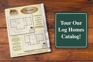 tour our log homes catalog!