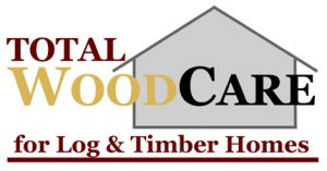 total wood care for log and timber homes logo